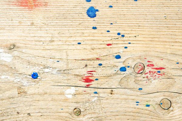 Annual Photograph - Wooden Surface by Tom Gowanlock