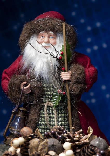 Photograph - Woodland Santa by Melany Sarafis