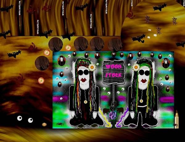 Troll Mixed Media - Woodstock by Pepita Selles