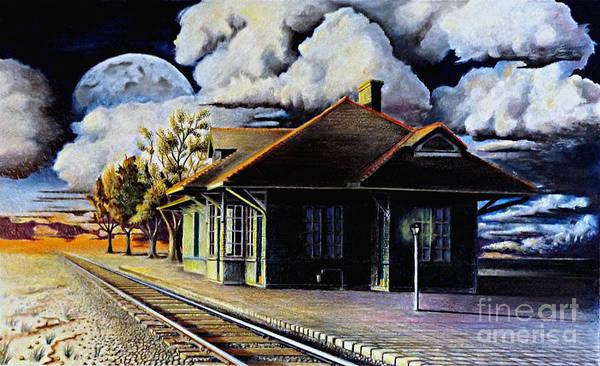 Woodstock Station Art Print