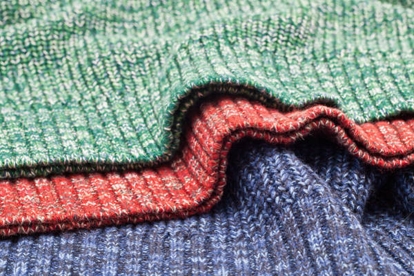 Clothing Store Photograph - Wool Colors by Tom Gowanlock