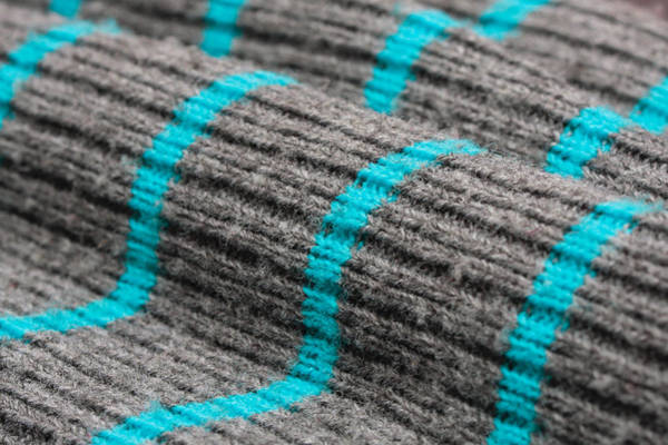 Weaving Photograph - Wool Material by Tom Gowanlock