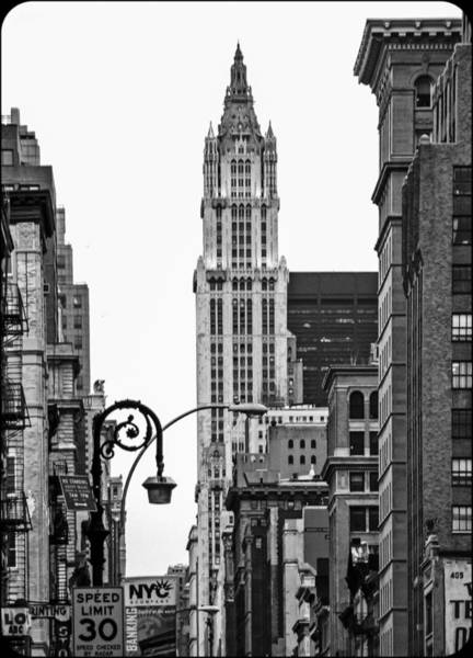Photograph - Woolworth Building II by Frank Winters