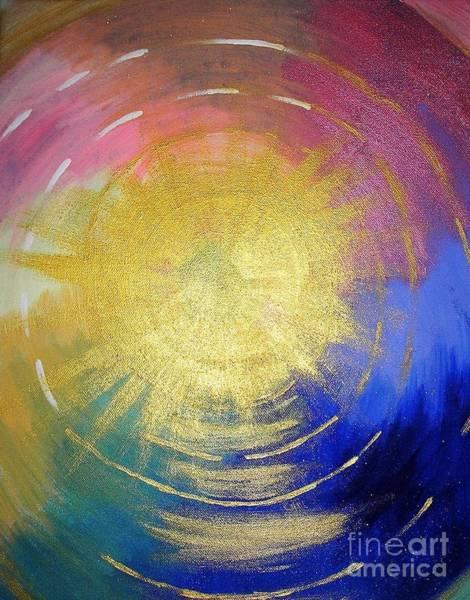 Painting - The Word Of God by Karen Jane Jones