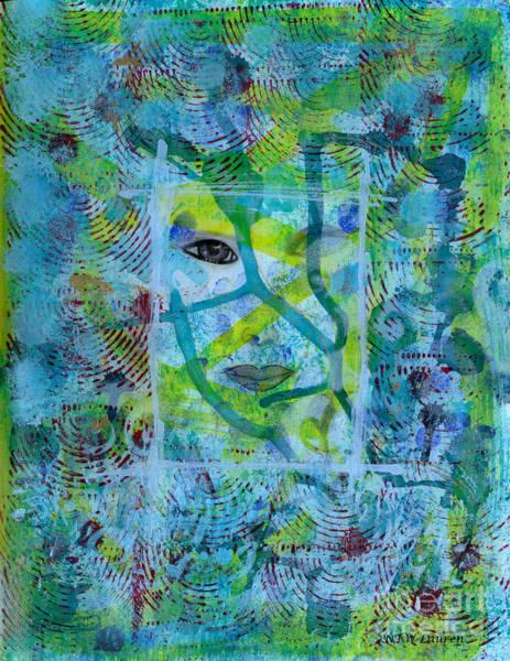 Wall Art - Painting - Wordless by Nancy TeWinkel Lauren