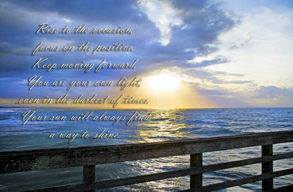 North Atlantic Wall Art - Photograph - Words To Live By by Betsy Knapp