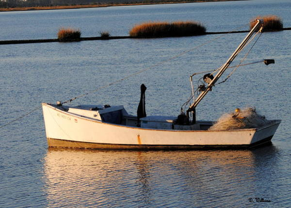 Photograph - Work Boat In North River by Dan Williams