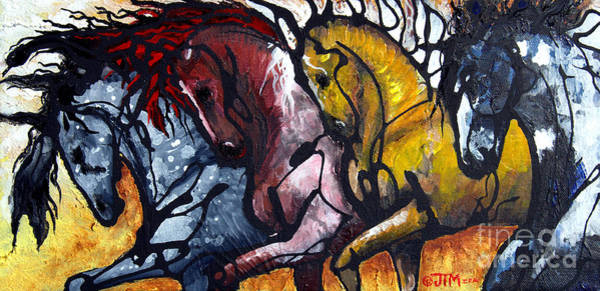 Painting - Work Together by Jonelle T McCoy