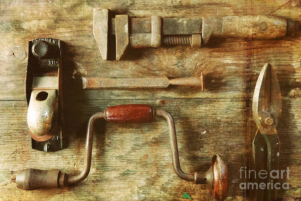 Wall Art - Photograph - Work Tools by Janice Pariza
