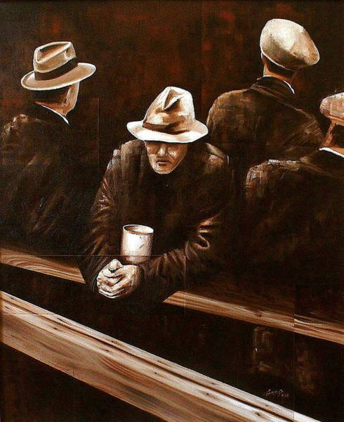 Painting - Working Class by Laurend Doumba