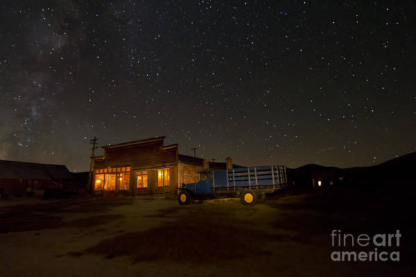 Photograph - Working Late In Bodie by Crystal Nederman
