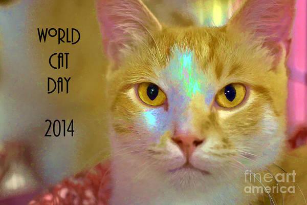World Cat Day Art Print