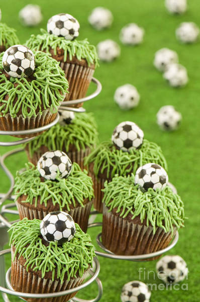 Wall Art - Photograph - World Cup Cupcakes by Amanda Elwell