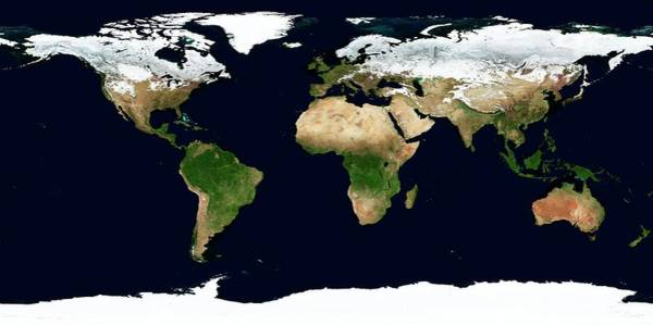 Earth Observation Wall Art - Photograph - World Map by Nasa Earth Observatory/science Photo Library