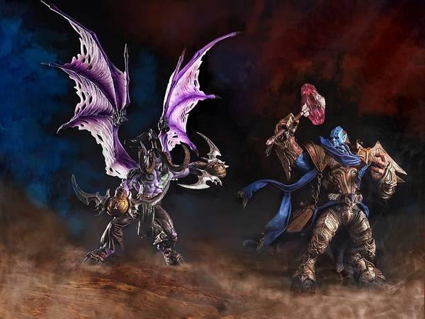 World Of Warcraft Wall Art - Photograph - World Of Warcraft by Irawan Subingar