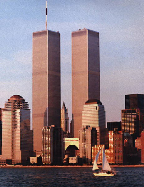 Photograph - World Trade Center 1999 by Paul Ross