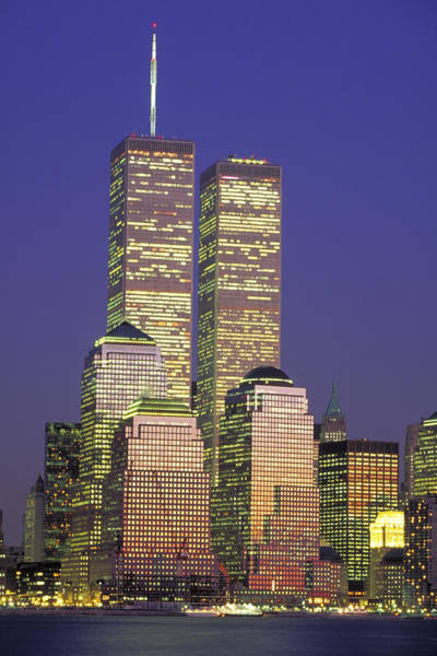 Wall Art - Photograph - World Trade Center At Night, Nyc by Jeffrey Lepore