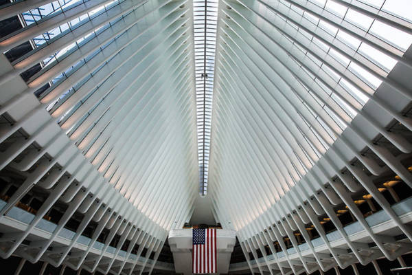 Wall Art - Photograph - World Trade Center Station by Federico Cella