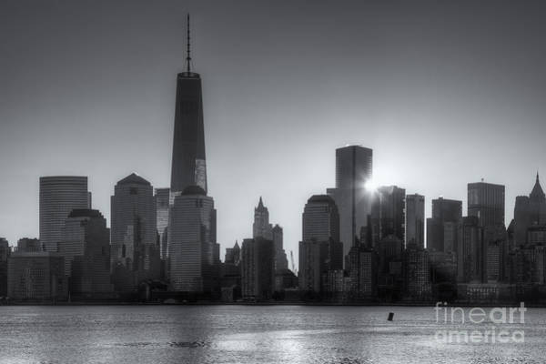 Photograph - World Trade Center Sunrise II by Clarence Holmes