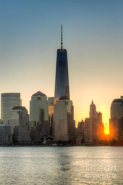 Photograph - World Trade Center Sunrise IIi by Clarence Holmes