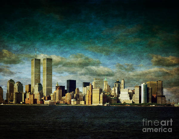 Wall Art - Photograph - World Trade Center Towers by Heinz G Mielke