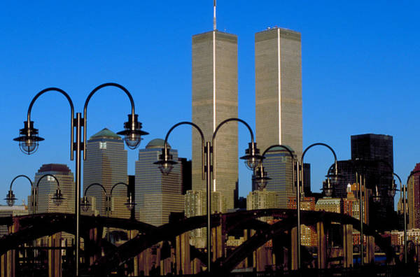 Photograph - World Trade Towers 1 by Matthew Pace