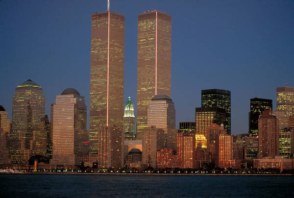 Photograph - World Trade Towers2 by Matthew Pace