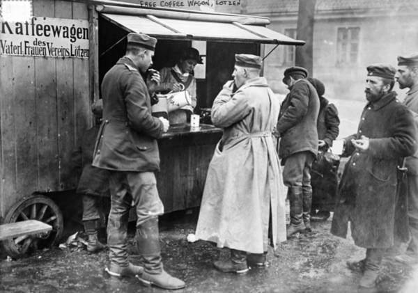 Photograph - World War I Coffee Wagon - To License For Professional Use Visit Granger.com by Granger