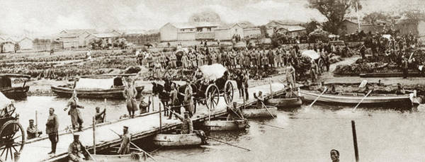 Photograph - World War I Jiaozhou - To License For Professional Use Visit Granger.com by Granger