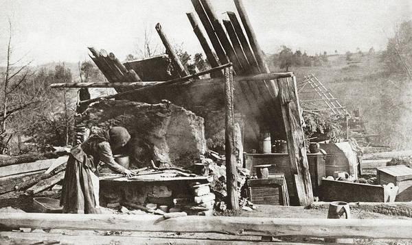 Lean-tos Photograph - World War I Ruins by Granger