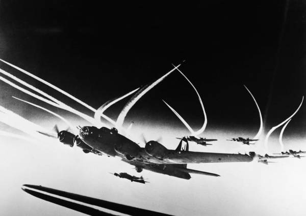 Photograph - World War II: B-17, C1942 by Granger