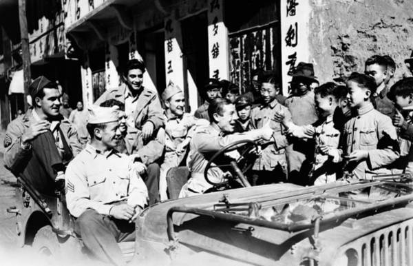 Photograph - World War II: China by Granger