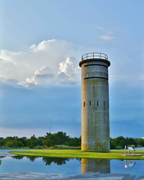 Photograph - World War II Lookout Tower - Tower Road - Delaware State Park by Kim Bemis