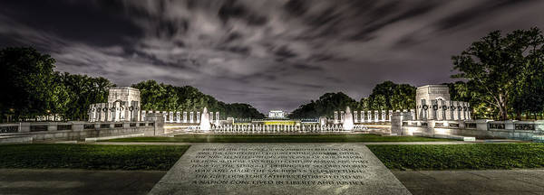 Photograph - World War II Memorial by David Morefield