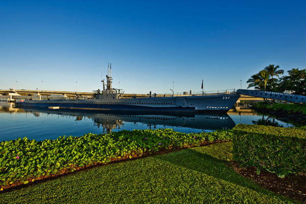 Uss Bowfin Photograph - World War II Submarine At A Museum, Uss by Panoramic Images