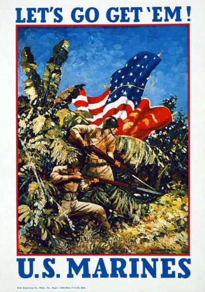 Recruitment Painting - World War II U by Granger
