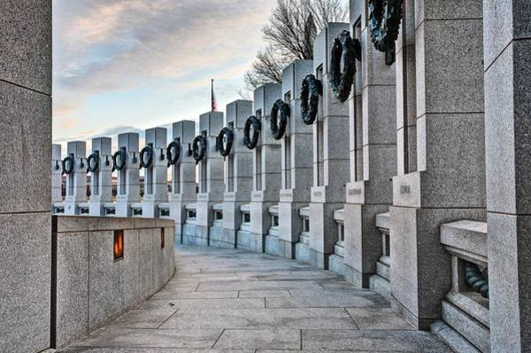 Photograph - World War Two Memorial  by JC Findley