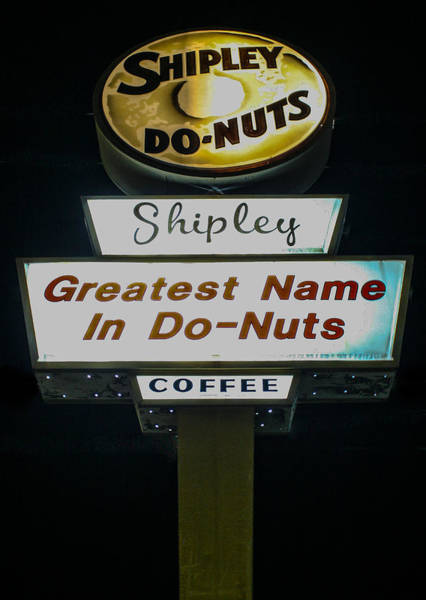Photograph - World's Best Do-nuts by Jeff Mize