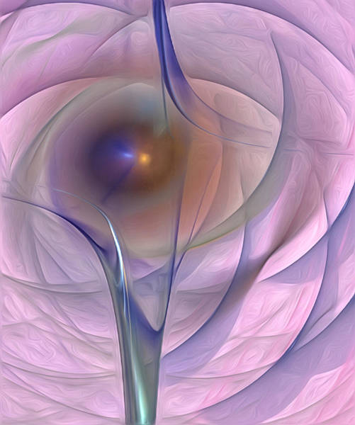 Photograph - Wormhole Into The Pink And Purple Universe by Susan Candelario