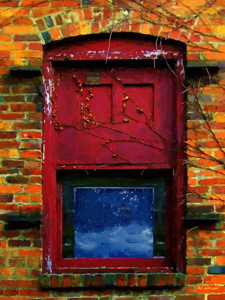 Painting - Wormhole Window by RC DeWinter