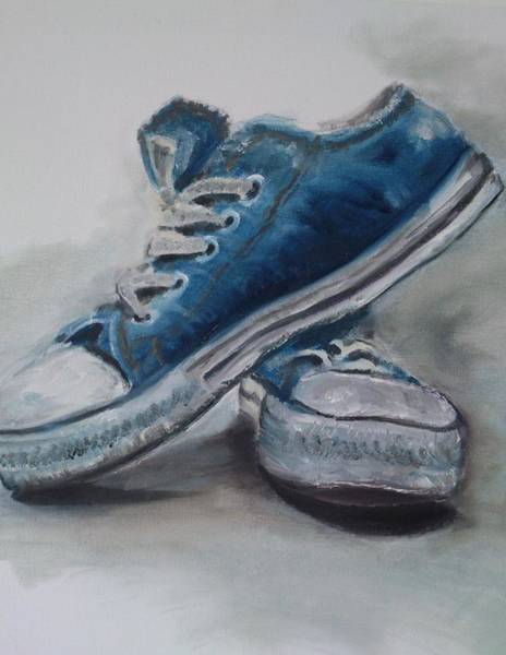 Sneakers Painting - Worn by Sonja  Roosenhart
