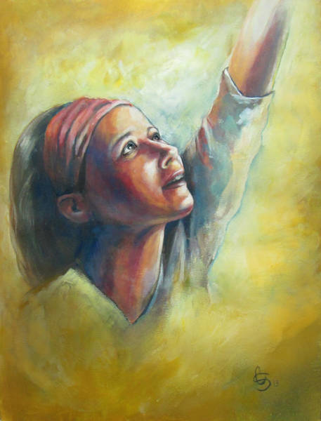 Wall Art - Painting - Worship by Tamer and Cindy Elsharouni