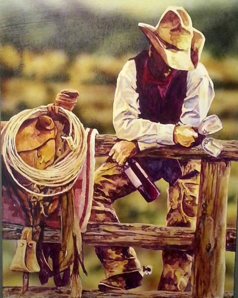 Painting - Worth Watin For by Tim  Joyner