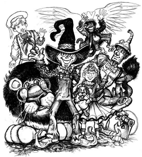 Holy Ghost Drawing - WOZ by Michael Mynatt