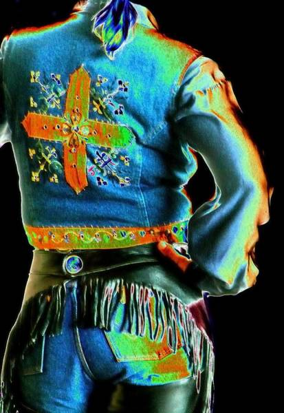 Photograph - Wrangler Back 3727 by Jerry Sodorff