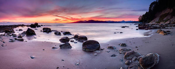 Photograph - Wreck Beach Panorama by Alexis Birkill