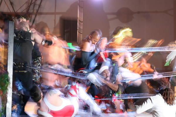 Photograph - Wrestling Mayhem by Cynthia Marcopulos