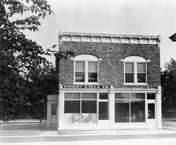 Wall Art - Photograph - Wright Brothers' Bicycle Shop by Nasa/science Photo Library