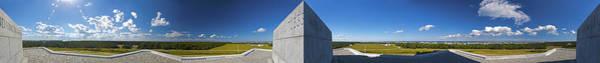 Photograph - Wright Brothers Memorial Panorama 356 Degree by Greg Reed