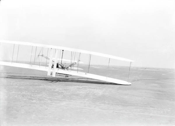 Flyers Photograph - Wright Flyer by Us Library Of Congress/science Photo Library